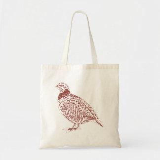 Partridge Tote/Shopping Bag