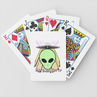 Party Ailen Bicycle Playing Cards