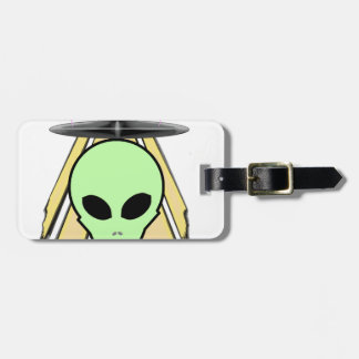 Party Ailen Luggage Tag