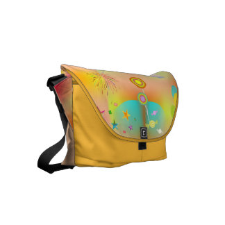 party and colors commuter bag