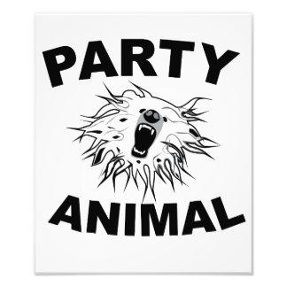 Party Animal A Fun Design for Fun People Art Photo