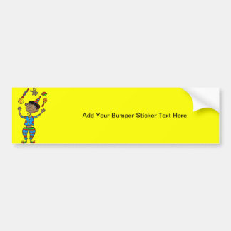 Party Animal Boy Bumper Sticker
