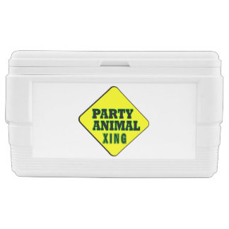 Party Animal Crossing Cooler