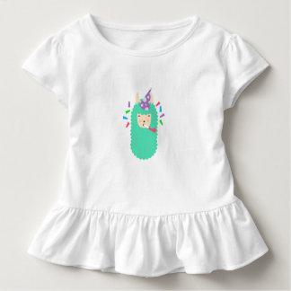 Party Animal Llama Emoji Toddler T-Shirt