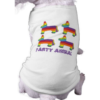 PARTY ANIMAL Rainbow Donkey Piñata Birthday Fiesta Shirt