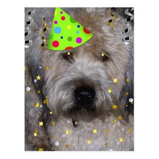 Party Animal Wheaton Terrier Postcard