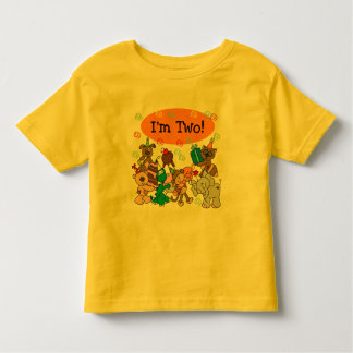 Party Animals 2nd Birthday Tshirts and Gifts