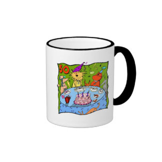 Party Animals 50th Birthday Gifts Mugs