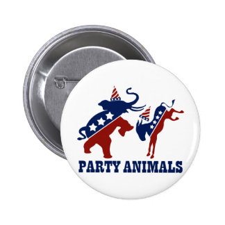 Party Animals Buttons