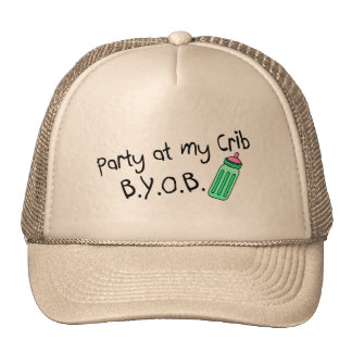 Party At My Crib Cap