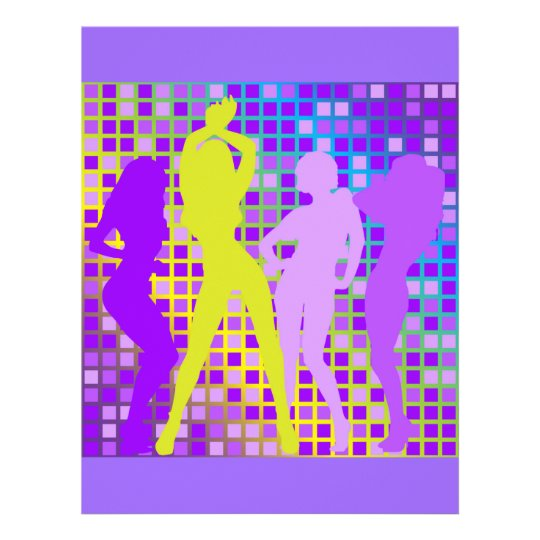 Party Background 21.5 Cm X 28 Cm Flyer