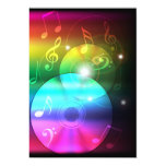 """Party Background 5"""" X 7"""" Invitation Card"""