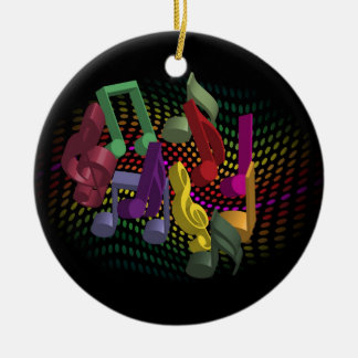 Party Background Christmas Tree Ornament