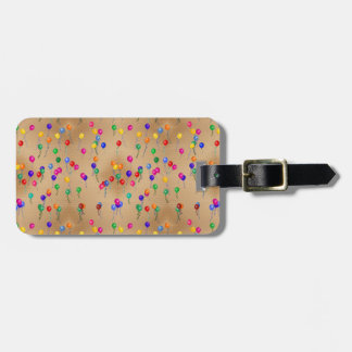 Party Ballons Luggage Tag