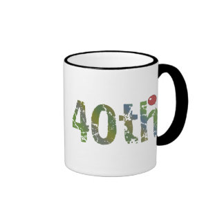 Party Balloon 40th Birthday Gifts Coffee Mug