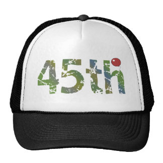 Party Balloon 45th Birthday Gifts Cap