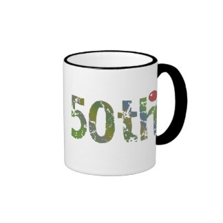 Party Balloon 50th Birthday Gifts Coffee Mug