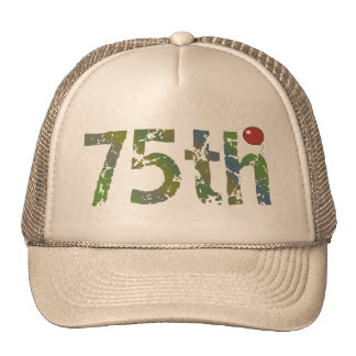 Party Balloon 75th Birthday Gifts Cap