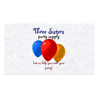 Party Balloon Business Cards