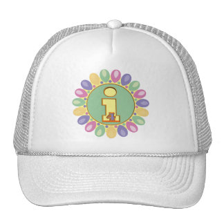 Party Balloons 4th Birthday Gifts Cap