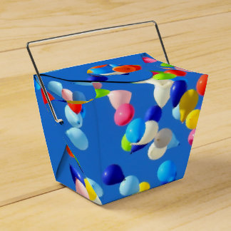 Party Balloons Favour Box