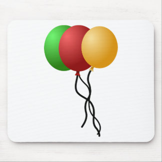 Party Balloons Mouse Pad