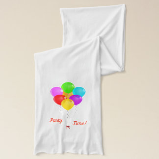 Party Balloons Scarf