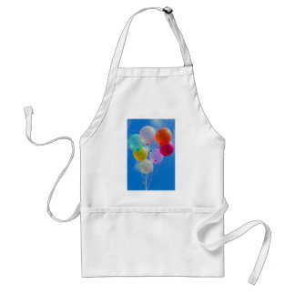 Party Balloons with blue sky Standard Apron