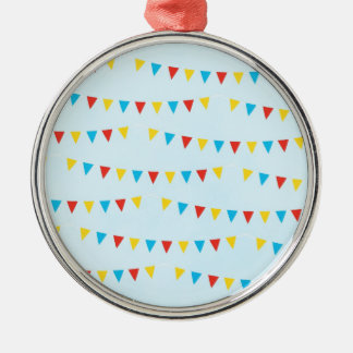 Party Banners Silver-Colored Round Decoration