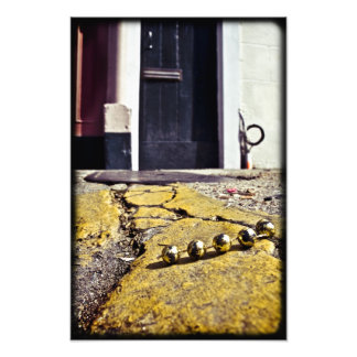 Party Beads in New Orleans Photo Print