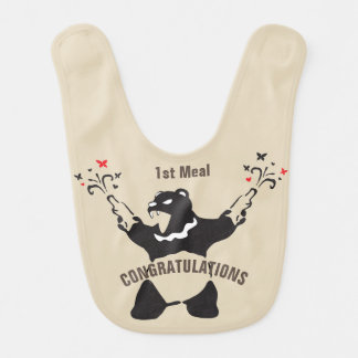 Party Bear Celebration Bib