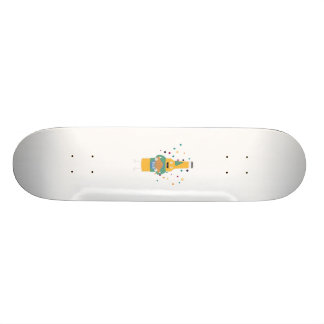 Party Beer Bottler with Cake Z4zzo 20.6 Cm Skateboard Deck
