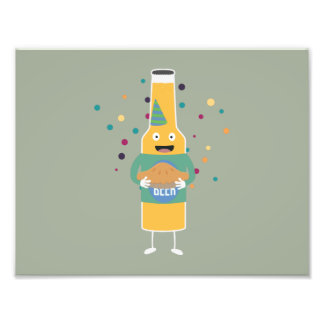 Party Beer Bottler with Cake Z4zzo Photo