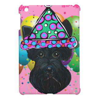 Party Black Scottish Terrier Case For The iPad Mini