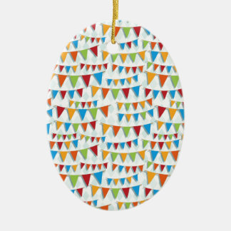 Party Bunting Christmas Tree Ornament