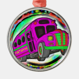 Party Bus.jpg Silver-Colored Round Decoration
