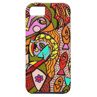party by Sandra Silberzweig iPhone 5 Cases