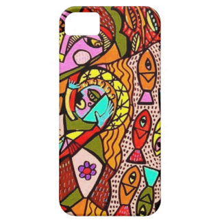party by Sandra Silberzweig iPhone 5 Cover