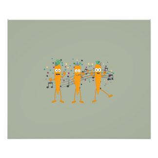 Party carrots art photo