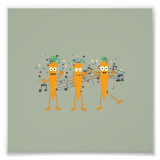 Party carrots photograph