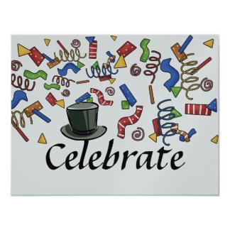 Party- Celebrate Invitation by SRF