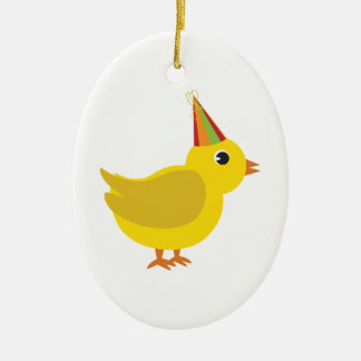 Party Chick Ornament