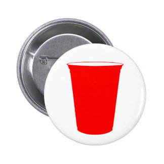 party cup 6 cm round badge