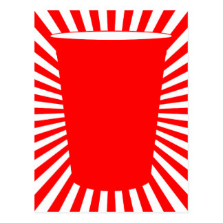 party cup postcard