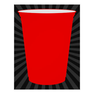 party cup poster