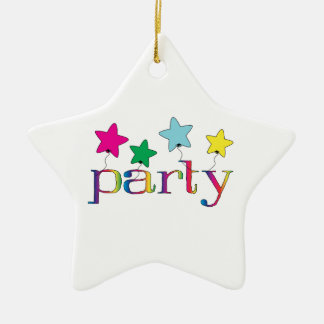 Party Christmas Ornaments