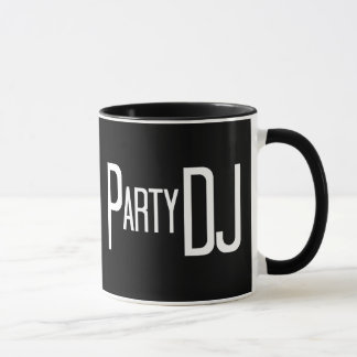 Party DJ Bold Mug