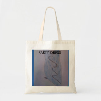 PARTY DRESS -BUDGET TOTE BUDGET TOTE BAG