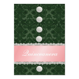 Party Dress Quinceanera Party Invitation