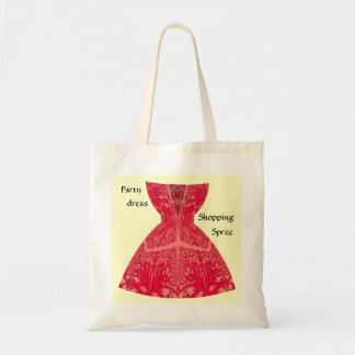 Party Dress Shopping Spree Bag